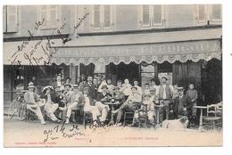 Grand Café Perdigou , à St-Girons. - Saint Girons