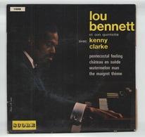 45 TOURS LOU BENNET SCORE 14048 PENTECOSTAL FEELING / CHATEAU EN SUEDE / WATERMELON MAN / THE MAIGRET THEME - Jazz