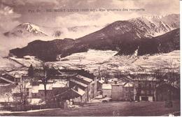 POSTAL  MONT-LUIS  -FRANCIA  - VISTA GENERAL DE LAS MURALLAS (VUE GÉNÉRALE DES REMPARTS) - Francia