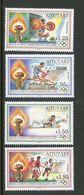 146. AITUTAKI COOK ISLAND 1992 SET/4 STAMP XXV OLYMPIC GAMES,BARCELONA . MNH - Aitutaki