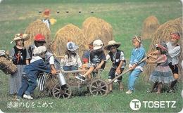 ENFANT - CHILDREN - BEBE - BABY - GARCON - FILLE - BOY - GIRL - KID - Télécarte Japon - Personen