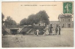 92 - BOURG-LA-REINE - La Gare Et Le Nouveau Pont - Montet 38 - Bourg La Reine