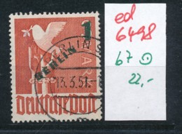 Berlin Nr.  67 O      (ed6498  ) Siehe Scan - [5] Berlín