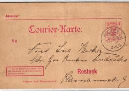 Privatpost- Rostock  - Alte GS.-Karte    (ke5319   ) Siehe Scan - Private