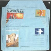 Australia - 1981-4 Aerogrammes (14) Mint ** - Aérogrammes