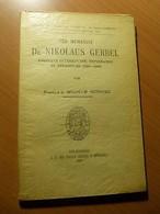 Alsace-Strasbourg-Der Humanist Dr.Nikolaus Gerbel-1485-1560-Protestantisme - 1901-1940