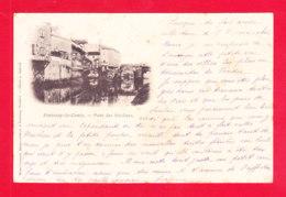 F-85-Fontenay Le Comte-160Ph92  Le Pont Des Sardines, Cpa Précurseur - Fontenay Le Comte