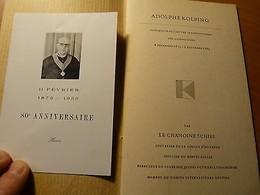 Adolphe Kolping-Foyers Des Compagnons-Allemagne-Cologne-Köln-Chanoine Schies - Livres, BD, Revues