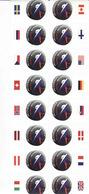 Slovakia 2019 - Ice Hockey World Championship Bratislava + Košice, 16 Stamps + States Pledges - Slowakije