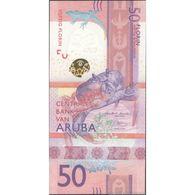 TWN - ARUBA NEW - 50 Florin 1.1.2019 Prefix A UNC - Aruba (1986-...)