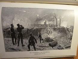 Guerre Franco-allemande-1870-71-Second Empire-Napoléon III-Der Nationalkrieg... - Livres, BD, Revues