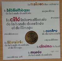 Médaille Touristique Angoulême 2012 Le Musée De La Bande Dessinée. - Monnaie De Paris