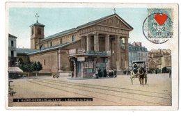 33902-ZE-78-SAINT-GERMAIN-en-LAYE-L' Eglise Et La Place------------animée-attelage - St. Germain En Laye