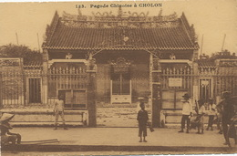 Cholon Chinese City Of Saigon  Chinese Pagoda - Vietnam