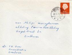 22 III 72 Brief Van GOUDERAK Naar Eindhoven - 1949-1980 (Juliana)