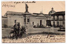 Tarjeta Postal De Venezuela. Plaza Sucre Y Capitolio Valencia. - Venezuela