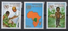 1971. République Du Zaïre. COB N° 800/02 *, MH - Zaire