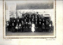 18  DUN SUR AURON . PHOTO De  MARIAGE Verso BILLON- . ( A CARRE  . Format 23  X 17 ) - Dun-sur-Auron