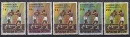 1974. République Du Zaïre. COB N° 843/47 *, MH - Zaire