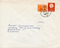 19 VI 72 Brief Van WERKENDAM  Naar Eindhoven Bijgefrankeerd - 1949-1980 (Juliana)