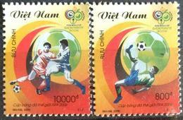 153. VIETNAM 2006 SET/2 STAMP FIFA WORLD CUP FOOTBALL, SOCCER. MNH - Vietnam