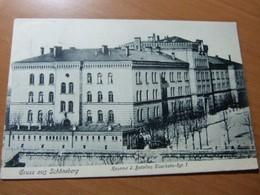 CPA. AK. Gruss Aus Schöneberg. Kaserne 2. Bataillon; Eisenbahn-Rgt. 1 - 1901-1940
