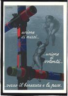 CPSM Italie Italia Fascisme Fascism Illustrateur PUPPO War WWII Voir Scan Du Dos - Weltkrieg 1939-45