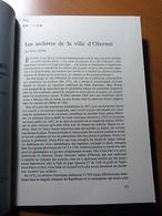 Alsace-Les Archives De La Ville D'Obernai-Fritz Eyer-Tiré à Part 1977 - Livres, BD, Revues
