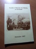Alsace-Annuaire 1987-Armorial De Mutzig-Libération De Mutzig (1944)-Artisanat... - Libros, Revistas, Cómics