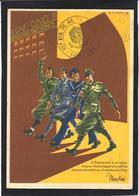 CPSM Italie Italia Fascisme Fascism Illustrateur FLOREANCI War WWII Voir Scan Du Dos - Guerre 1939-45