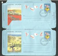 Australia - 1981-5 Aerogrammes (14) FDC - Aerogrammes