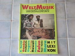 Musikblatt Welt Musik B Bartok Gambia  Ect - Musique