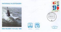 1995 NATINALE VLOOTDAGEN DEN HELDER  VELDPOST 38 - FDC