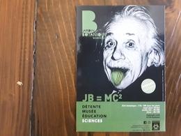 Albert EINSTEIN Prix Nobel Physique , Sur Carte Jardin Botanique,  Sciences, Bordeaux , TB - Premi Nobel