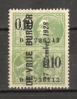 Belgique 1928 - DE VRIJE BURGER - 1 Timbre Fiscal - Fiscali