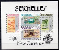 SEYCHELLES   Timbres Neufs ** De 1980   ( Ref 6572 )  Expo London 80 - Seychelles (1976-...)