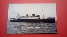 "Bateau Anglais ""Ulster Prince"" - Ferries"