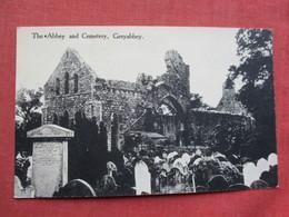 The Abbey & Cemetery   Grayabbey  Ref 3438 - Ireland