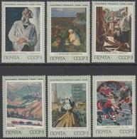 RUSSIE 1973 6 TP Histoire De La Peinture Russe N° 3952 à 3957 Y&T Neuf ** - Ungebraucht