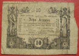 10 Kreuzer 1.11.1860 (WPM A93a) - Austria