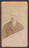 Ancienne Photo Cdv Carte D'entrée Exposition Internationale De Toulouse 1887 - A. Provost Photographe - Fotos