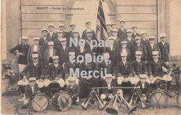 57 - Magny Moselle Metz - Socièté De Gymnastique - Francia