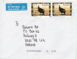 Brief Van VISBAAI/BAY Naar Urk - Namibië (1990- ...)