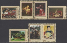 RUSSIE 1973 7 TP Tableaux. Oeuvres De Maîtres Européens N° 3991 à 3997 Y&T Neuf ** - Ungebraucht