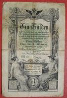 1 Gulden 7.7.1866 (WPM A150) - Austria