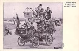 POLITIQUE - SATIRIQUE :  Le Clou-Rêve De L'EXPOSITION De 1900 à PARIS - Seine - Satiriques