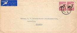 Luchtpostbrief  Van Johannesburg Naar Krommenie - Zuid-Afrika (1961-...)