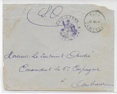 CAMEROUN - 1943 - ENVELOPPE FM Du POSTE De YOKO !! => AMBAM - Cameroun (1915-1959)