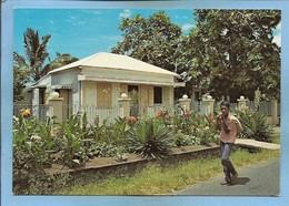 Case Créole Dans Le Sud De L'île De La Réunion 2scans Carte Animée - La Réunion