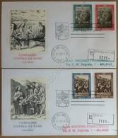FDC Vaticano 1963 - Campagna Contro La Fame - 2 Buste Non Viaggiate - Francobolli